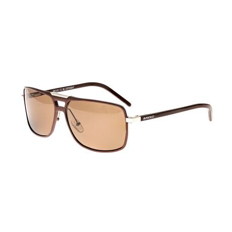 Retrograde Polarized Sunglasses // Brown Frame + Brown Lens