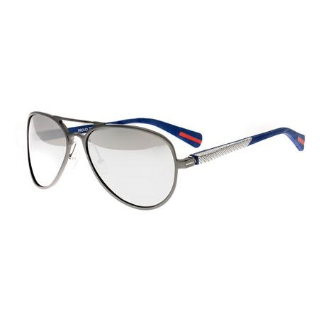 Dorado // Titanium Polarized Sunglasses // Gunmetal Frame + Black Lens
