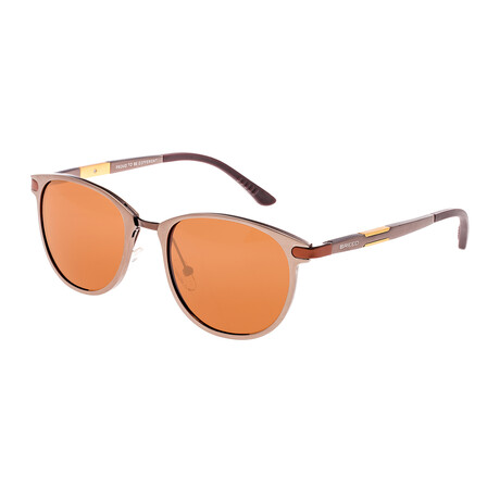 Orion Polarized Sunglasses // Brown Frame + Brown Lens