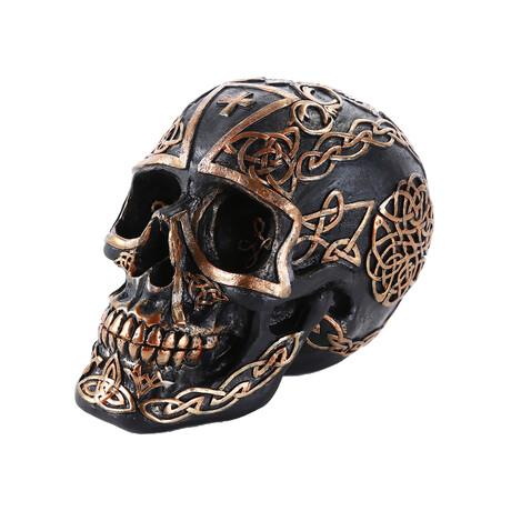 Celtic Cross Skull