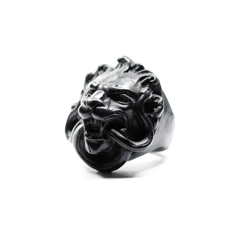 Lion Ring // Black (5)