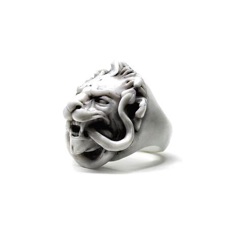 Lion Ring // White (5)