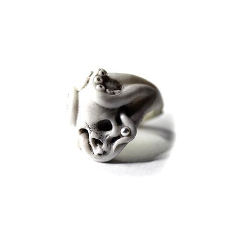 Octopus Ring // White (5)