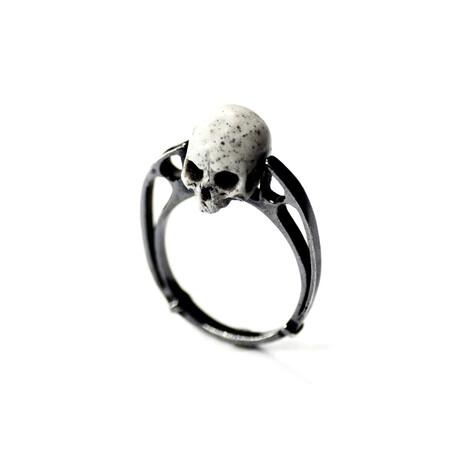 Arche Skull Open Ring (5)