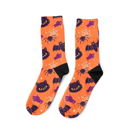 Cats + Bats Socks