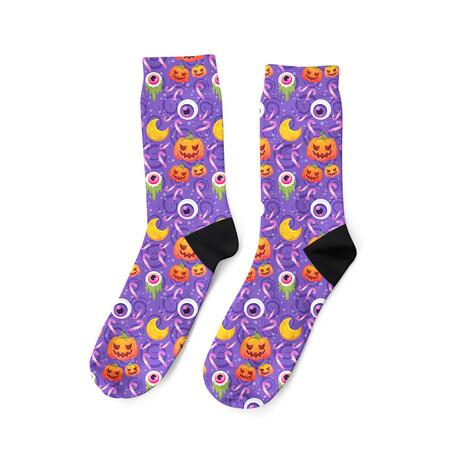 Spooky Halloween Socks
