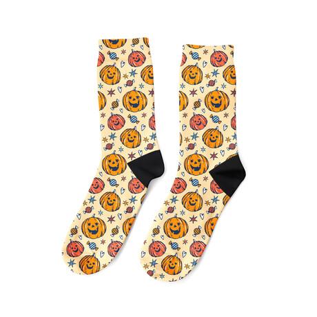Pumpkins + Candy Socks
