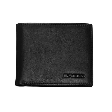 Locke Bi-Fold Wallet // Black