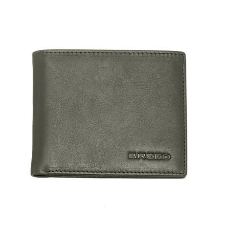 Locke Bi-Fold Wallet // Olive