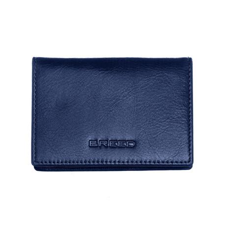 Porter Bi-Fold Wallet // Blue