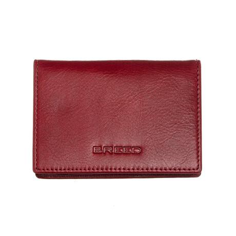 Porter Bi-Fold Wallet // Maroon