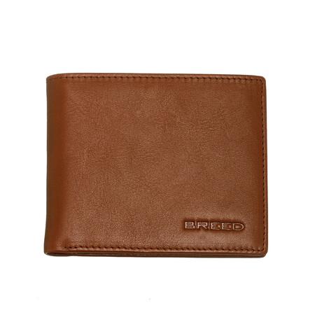 Locke Bi-Fold Wallet // Brown