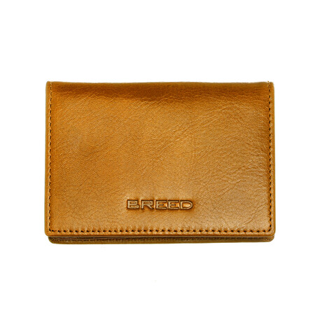 Porter Bi-Fold Wallet // Camel