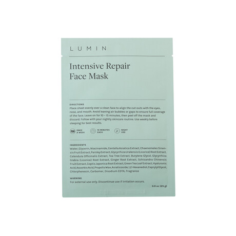 Intensive Reconditioning Face Mask