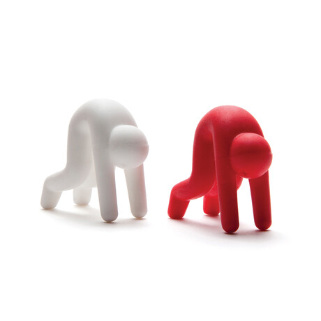 Lid Sid // Lid Rest // Red + White