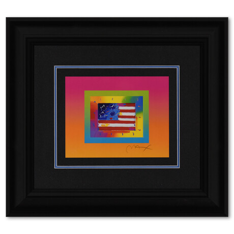Flag with Heart on Blends