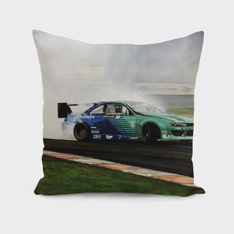 """James Deane Drift Car (14"""" x 14"""")"""