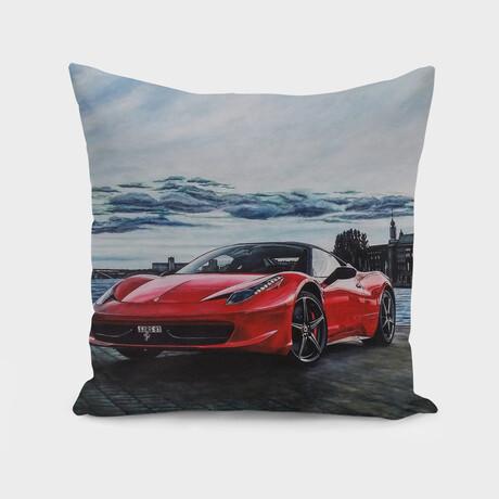"Dream Car I (14"" x 14"")"