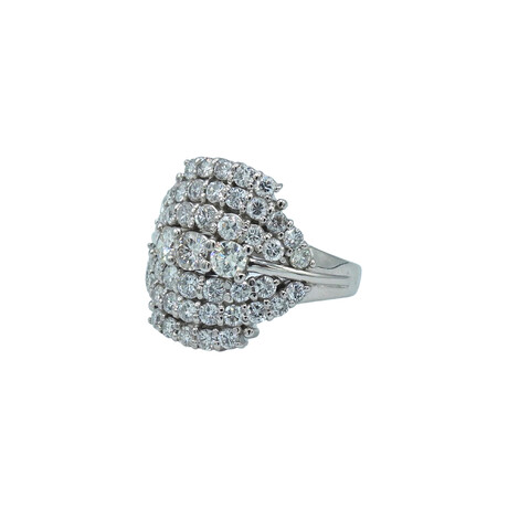 Platinum Diamond Ring // Ring Size: 5.75 // Pre-Owned