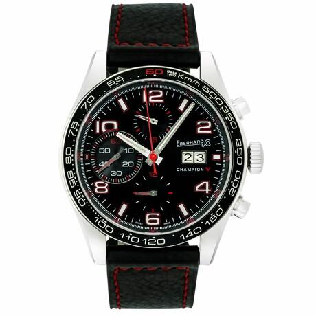 Eberhard & Co. Champion V Grande Date Chronograph Automatic // 31064.3 R // Store Display
