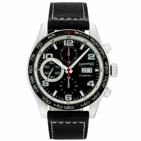 Eberhard & Co. Champion V Grande Date Chronograph Automatic // 31064.2 // Store Display