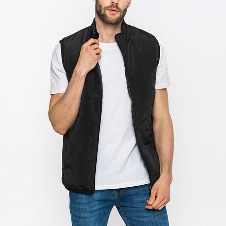 Ellis Puffer Vest // Black (S)