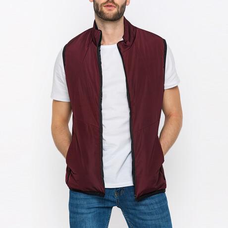 Scout Puffer Vest // Bordeaux (S)
