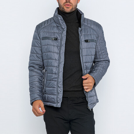 Axel Classic Puffer Jacket // Gray (S)