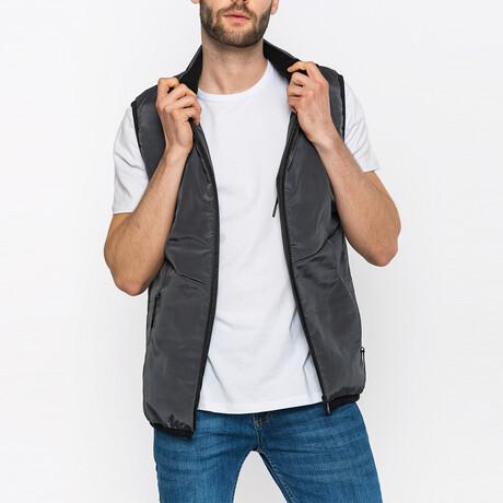 Maddox Puffer Vest // Antracite (S)