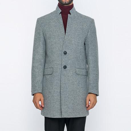 Finn Classic Double Button Winter Coat // Gray (S)