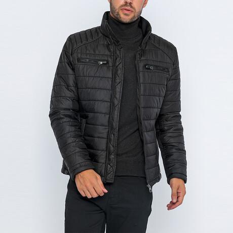 Sean Classic Puffer Jacket // Black (S)