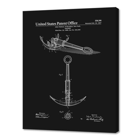 "Anchor Patent (10""H x 8""W x 0.75""D)"