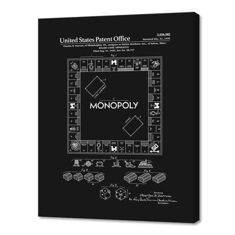 """Board Game Patent (10""""H x 8""""W x 0.75""""D)"""