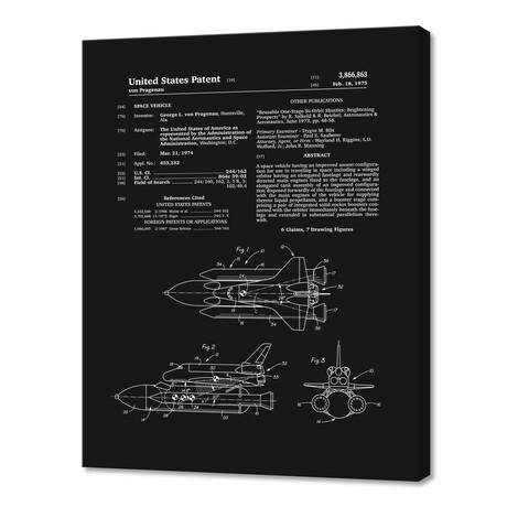 "Space Shuttle Patent (10""H x 8""W x 0.75""D)"