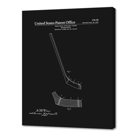 "Hockey Stick Patent (10""H x 8""W x 0.75""D)"