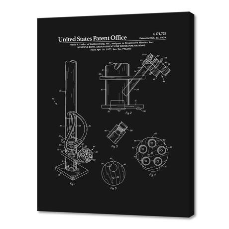 "Bong Patent (10""H x 8""W x 0.75""D)"