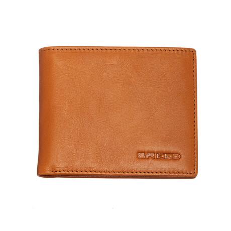 Locke Bi-Fold Wallet // Orange