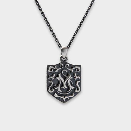 """Ancile Pendant // Silver (19.7""""L)"""