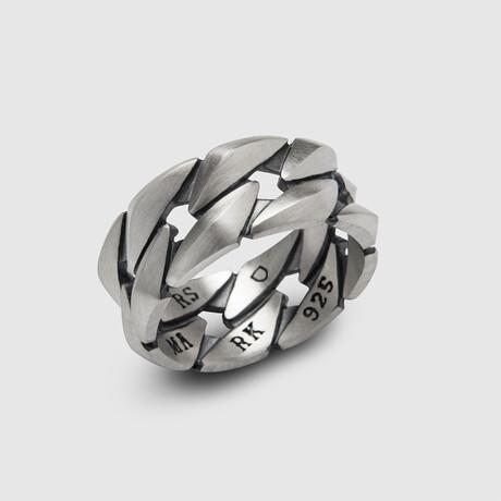 Mars Chain Ring No.1 // Silver (8)