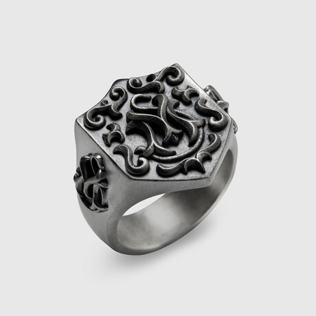 Ancile Ring // Silver (8)