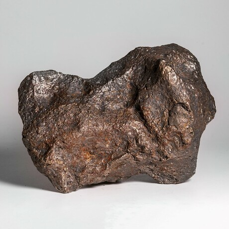 Giant Natural Campo del Cielo Meteorite + Acrylic Display Stand // 9 lb