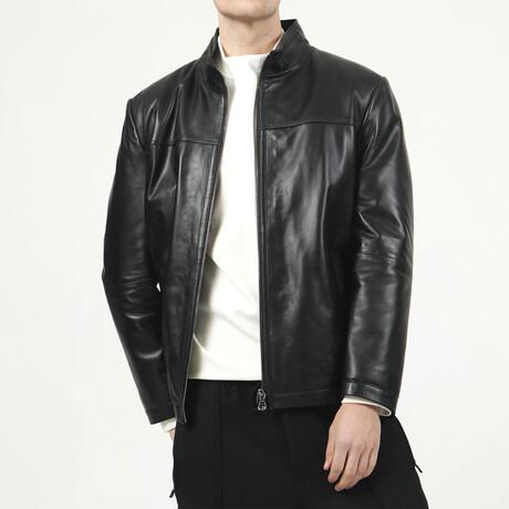 Zig Leather Jacket V3 // Black (XS)