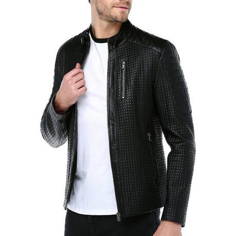Zig Leather Jacket V1 // Black (XS)