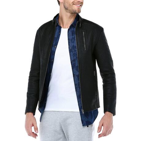 Gummy Leather Jacket // Black (XS)