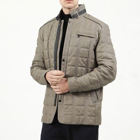 Gummy Leather Jacket // Mink (XS)