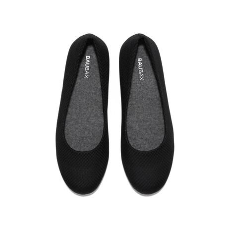 Women's Dressy Flats Shoes // Black (Women's US Size 5)