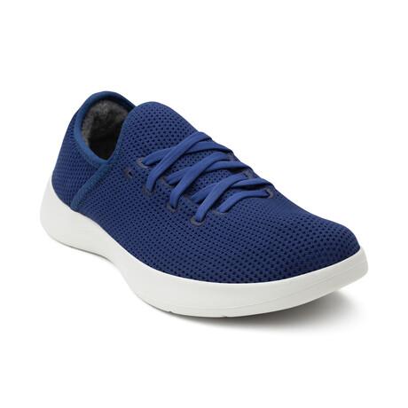 Men's Breezy Laced Shoes // Navy (Men's US Size 7)