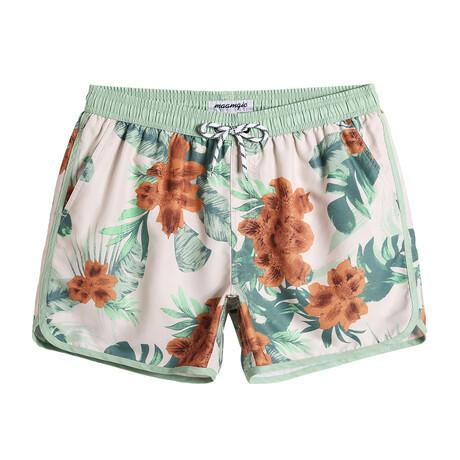 """Sean 4.5"""" Swim Trunks // Vintage Floral // Multicolor (XS)"""
