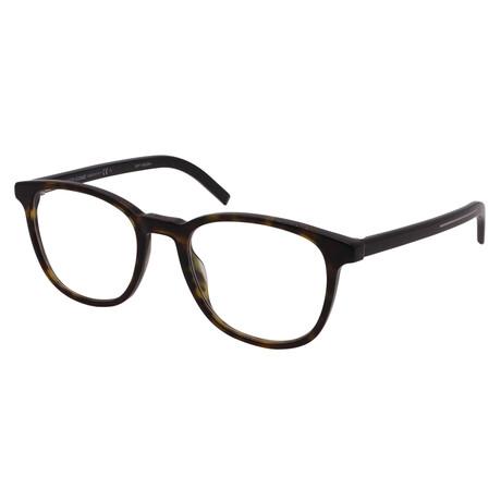Dior // Unisex BLACKTIE 242-581 Square Optical  Frames // Tortoise