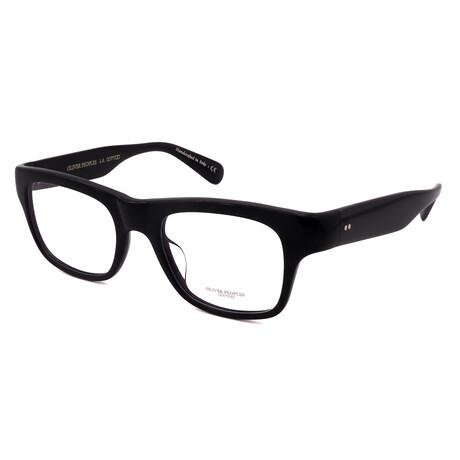 Oliver Peoples // Unisex OV5432U-1005 Rectangular Optical Frames // Black